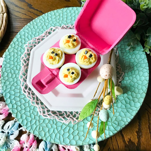 decorative deviled eggs