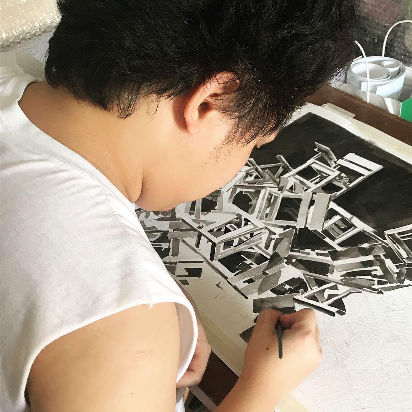 SHELL'S 3RD VIRTUAL ART INTERACT: Bayani Galera