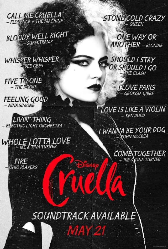 Banda Sonora de Cruella Estará Repleta de Sonoridades Fortes Incluindo Uma Canção Original de Florence + The Machine