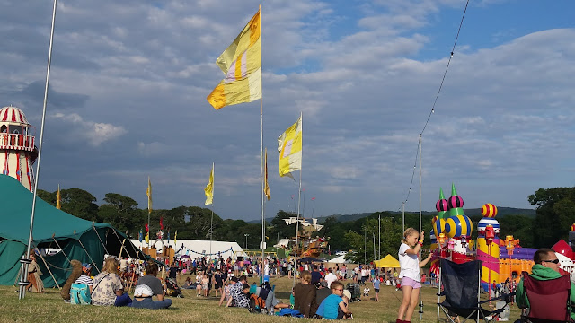 camp bestival kids field