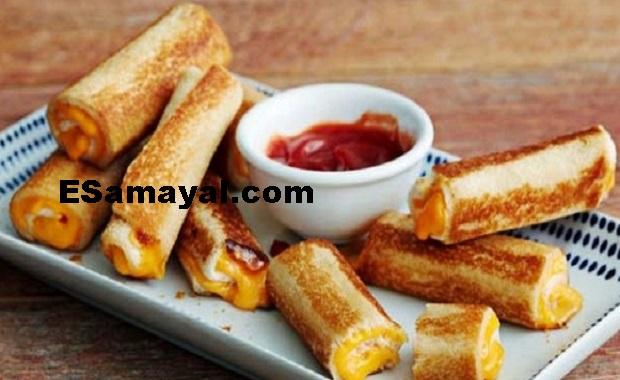 பிரெட் சீஸ் ரோல்ஸ் செய்வது எப்படி? | Make Bread Cheese Rolls !