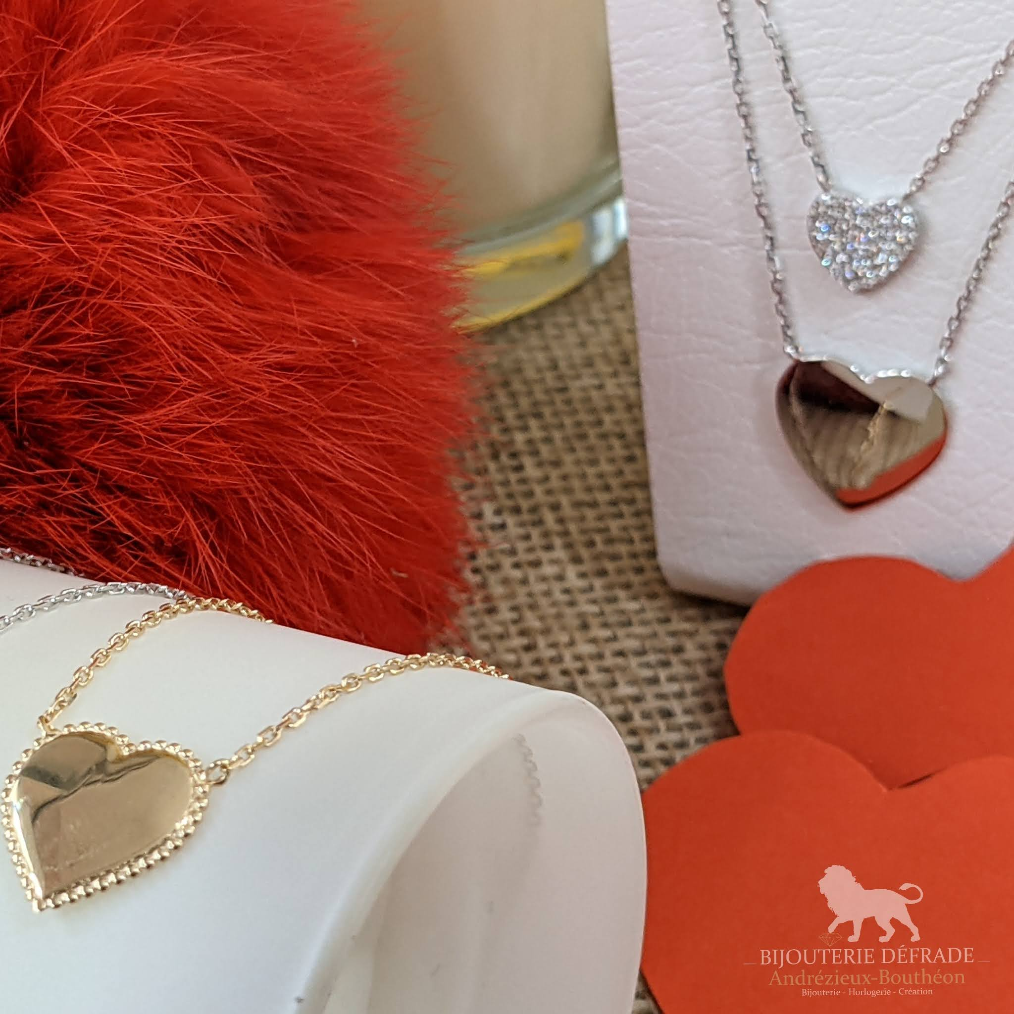 collier coeur bijouterie defrade