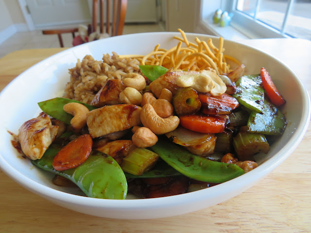 Cantonese Chicken Chop Suey