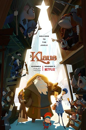 Download Klaus (2019) 850MB Full Hindi Dual Audio Movie Download 720p Web-DL Free Watch Online Full Movie Download Worldfree4u 9xmovies