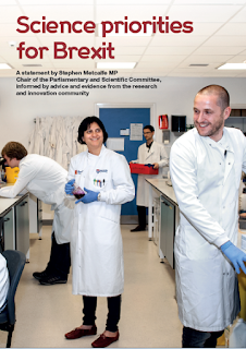 http://www.scienceinparliament.org.uk/wp-content/uploads/2012/09/Science-Priorities-for-Brexit-Final.pdf