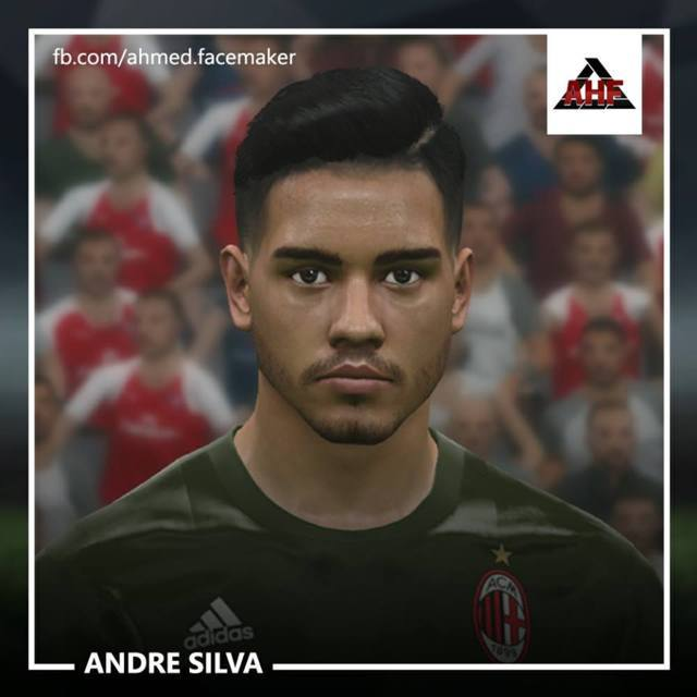 Andre Silva Face (AC Milan) PES 2017