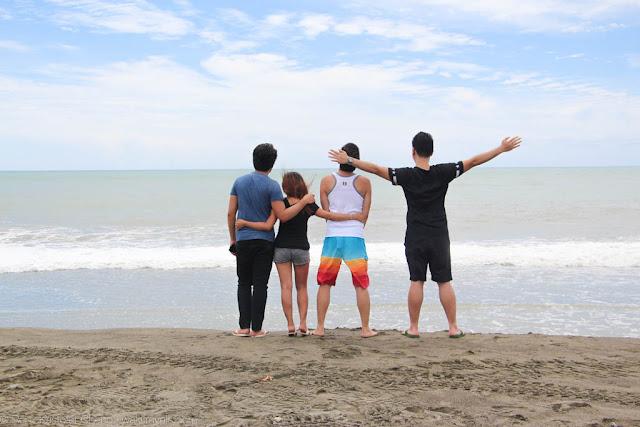 Beach by the La Paz Sand Dunes