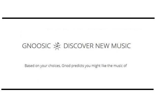 Gnoosic - Ένα απίστευτο εργαλείο για να ανακαλύψεις νέα τραγούδια και συγκροτήματα