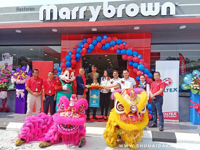 Marrybrown Buka Cawangan Baru di Caltex Sungai Choh Rawang