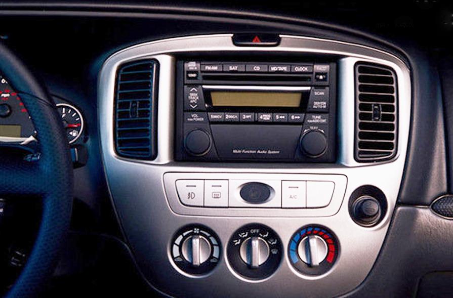 Mazda tribute radio code