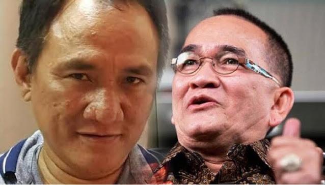 Andi Arief Harap Jokowi Angkat Ruhut Sitompul Jadi Direksi PLN... Bagian Megangin Setrum