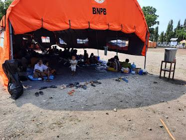 Akibat Erupsi Gunung Ili Lewotolok, Pengungsi Tersebar di 20 Titik