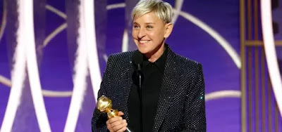 A apresentadora Ellen DeGeneres