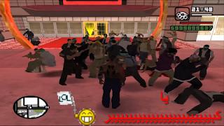 مود العصابات   GTA SA ~ War Gangs
