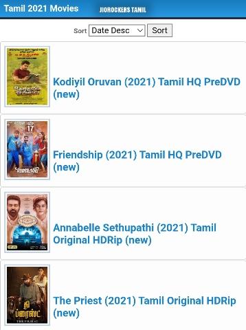 Jiorockers Tamil Movies Download | Latest Tamil Movies 2021