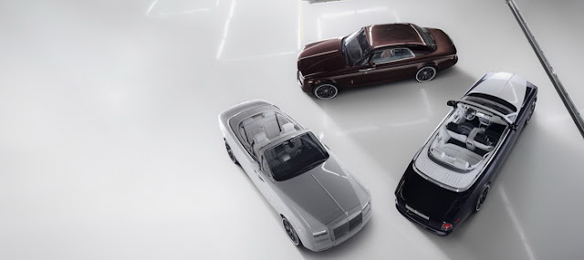 Rolls-Royce Phantom to end the production model b 50 copies of Zenith Collection own