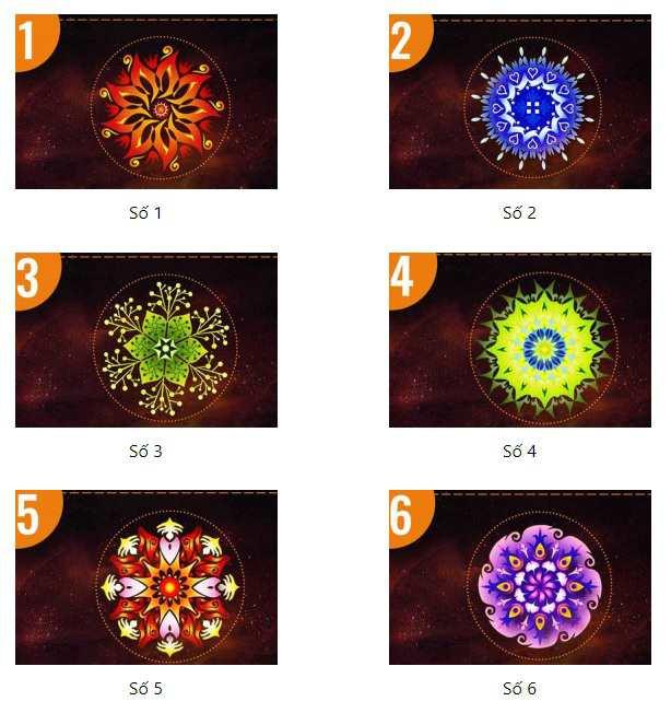 Chọn một hình Mandala để khám phá sức mạnh kỳ diệu tiềm ẩn trong bạn