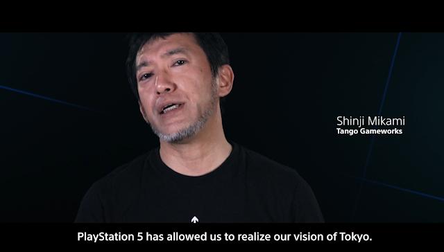 Ghostwire Tokyo Shinji Mikami Tango Gameworks PlayStation 5