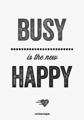 What does being busy mean? HinesSightBlog