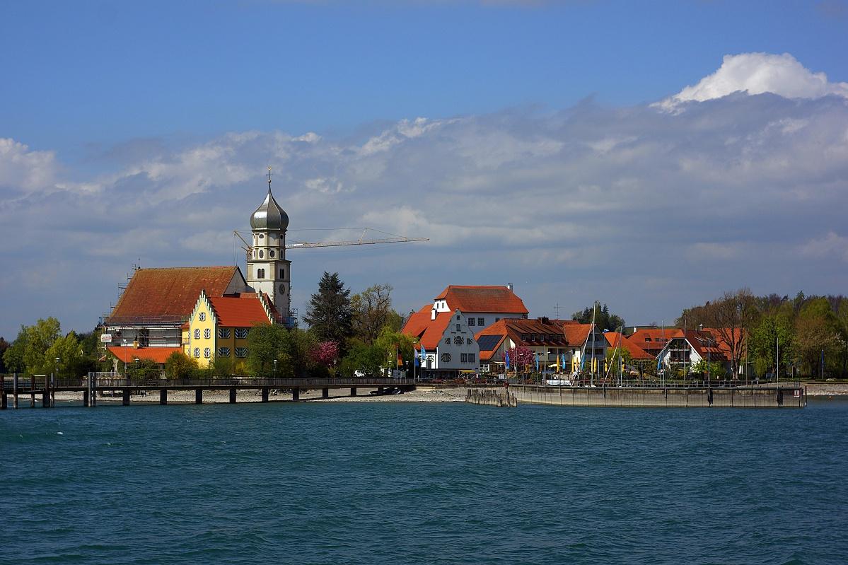 #010 Carl Zeiss Jena Tessar f2.8 50mm – Meersburg von der Seeseite