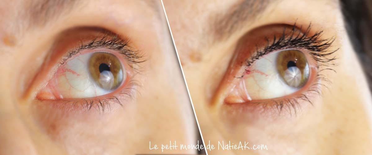 mascara pomponne effet sur les cils