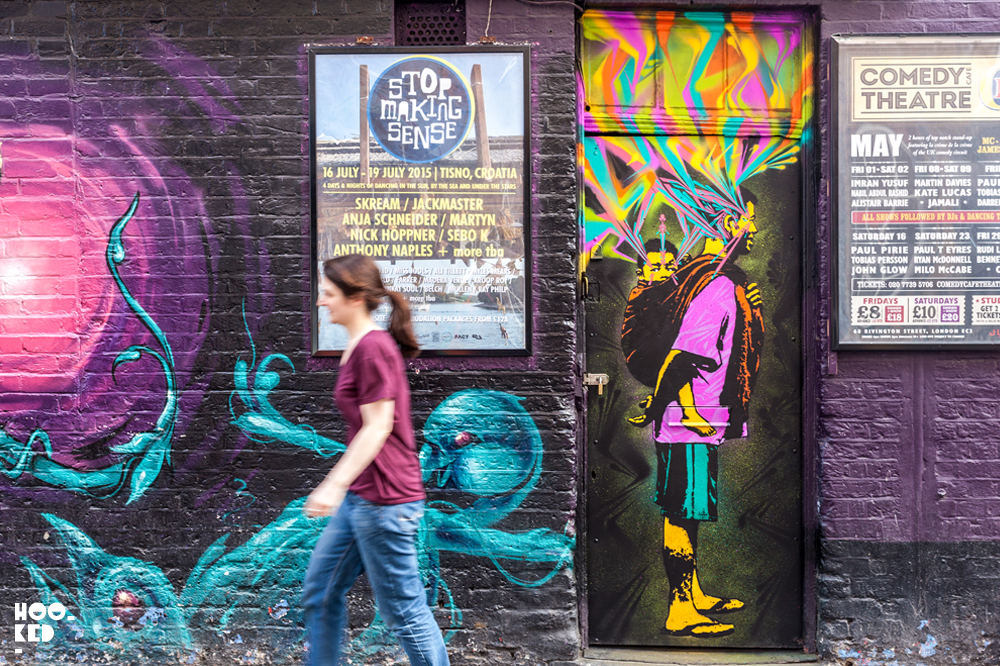 England-London-Shoreditch-Colombian-Street-Artist-Stinkfish-London-Street-Art