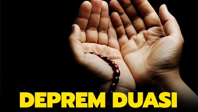 Deprem Duası Depremde okunacak dualar