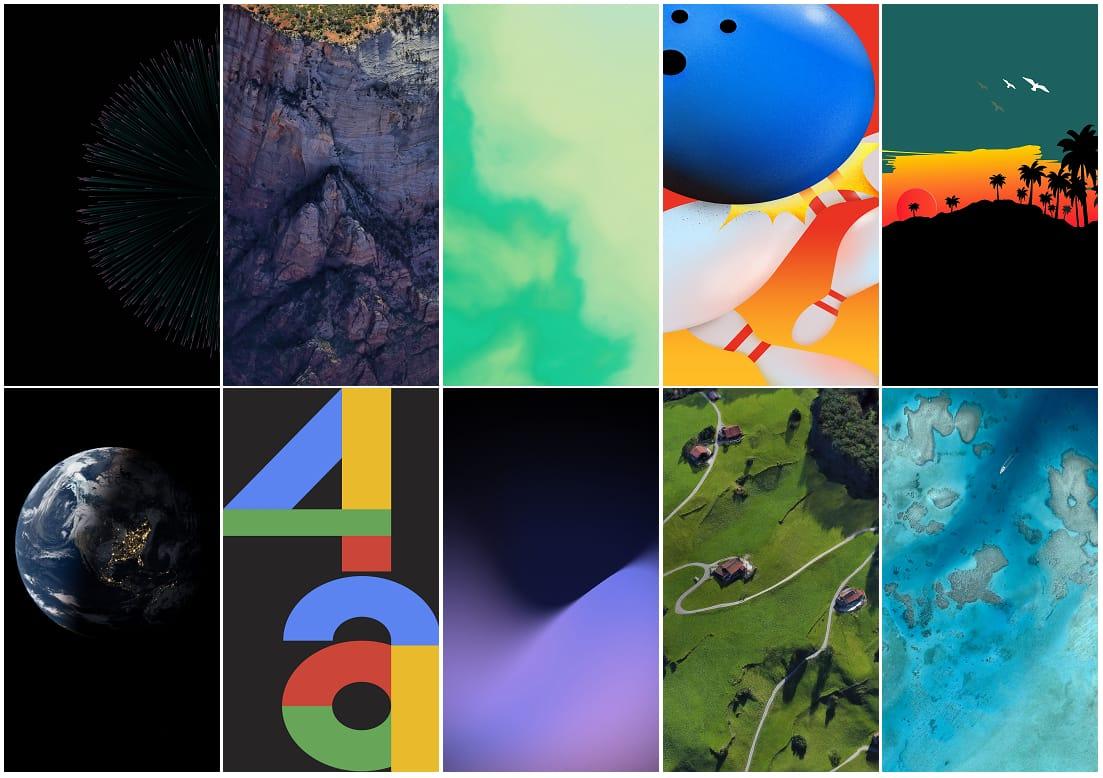 google pixel 4 stock wallpaper