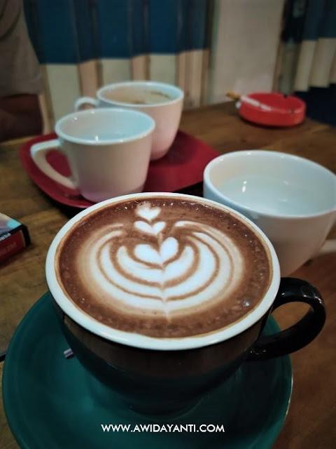 Mocca Latte Art