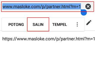 cara membuat partner blog
