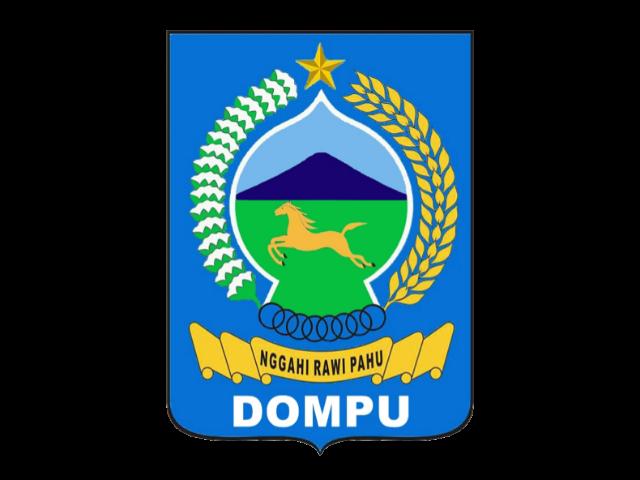 Logo Kabupaten Dompu Format PNG