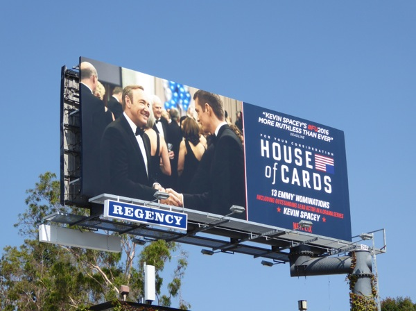 House of Cards 2016 Emmy nominations billboard