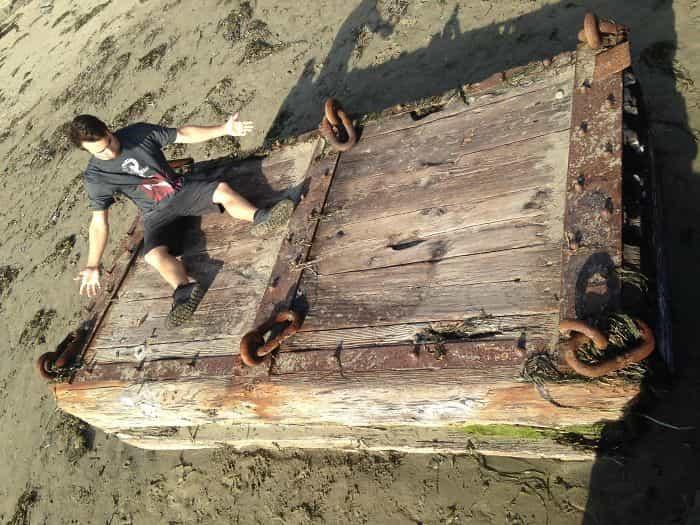 ,أغرب أشياء وجدت على الشواطئ,أغرب الاشياء,الولايات المتحدة الأمريكية.