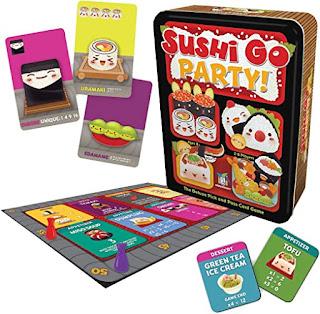 Sushi go party el juego de mesa