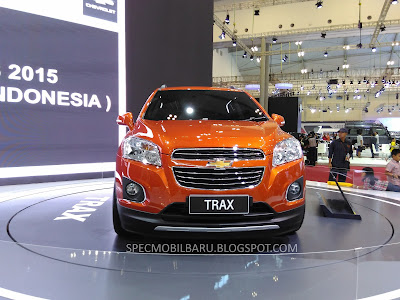 Chevrolet Trax Launched at GIIAS 2015 ICE BSD - Indonesia