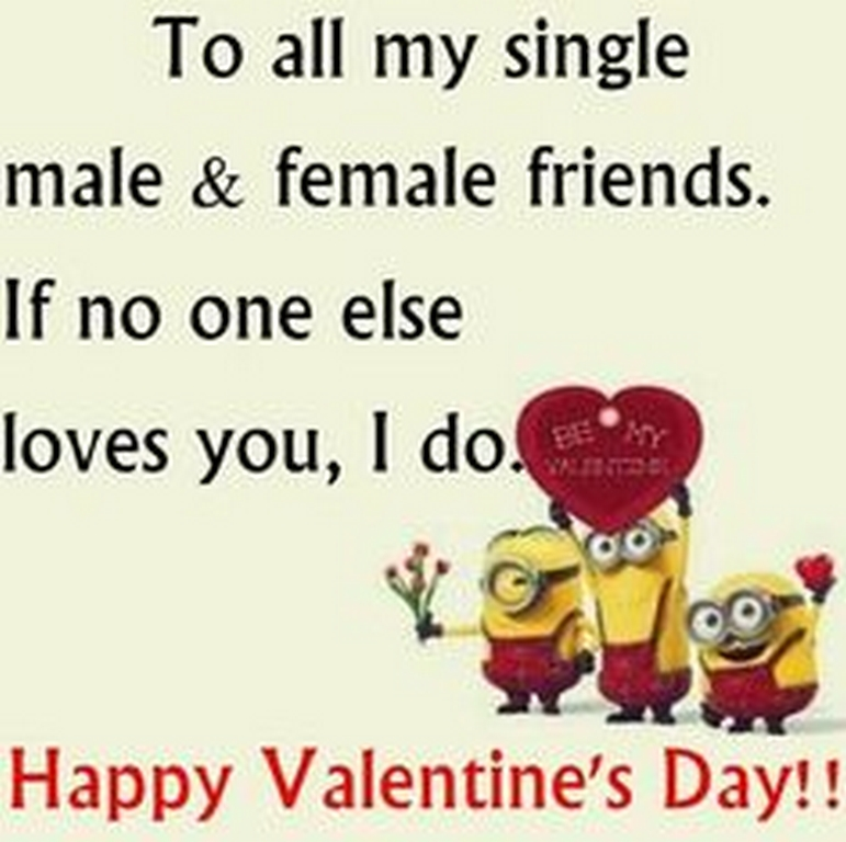 Valentine wishes for singles