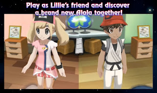 Pokemon Star para 3DS Lillie Personaje Principal