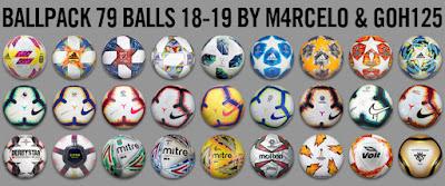 PES 2013 Ballpack 18-19 by M4rcelo & Goh125 ( 79 Balls )
