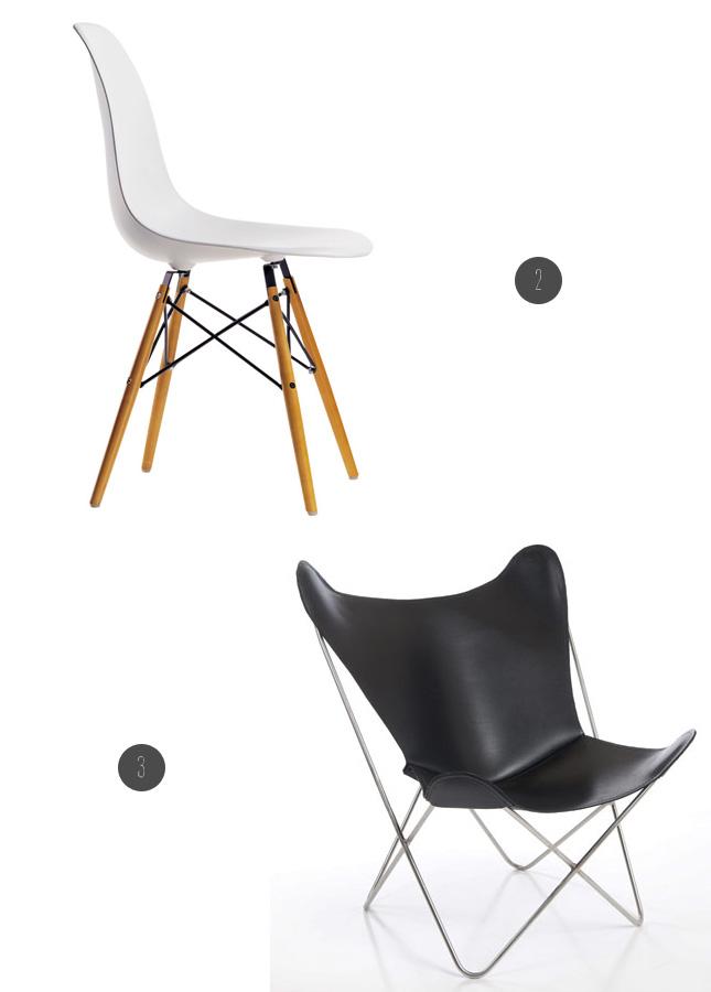 Happy Interior Blog: 5 Happy Inspirations: Design Chairs - Acapulco 1950 Décoration