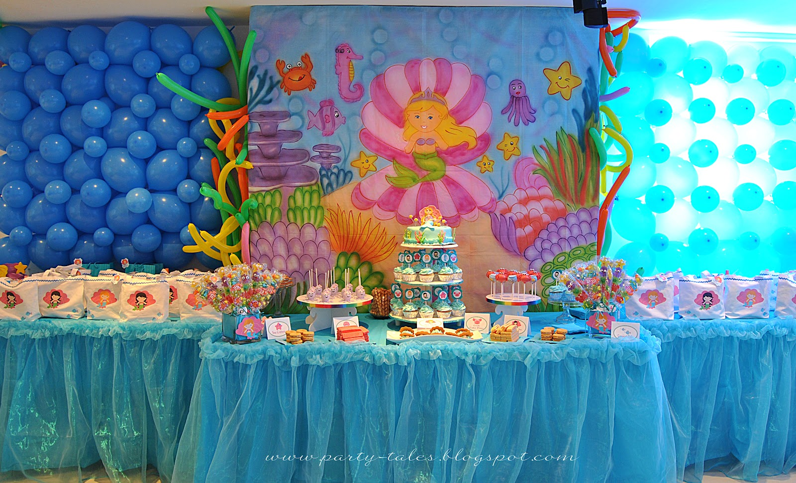Party Tales Birthday Party Under The Sea Birthday Bash Part 1