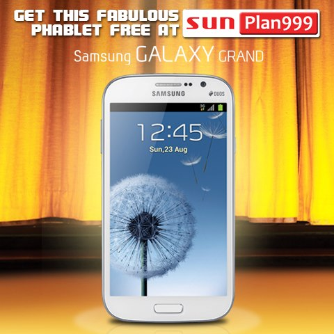 sun cellular postpaid plan 999 galaxy grand