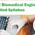 GATE Biomedical Engineering Detailed Syllabus 2020