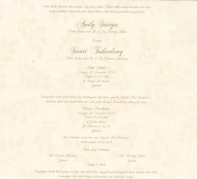 Undangan Pernikahan Softcover Erba 88160
