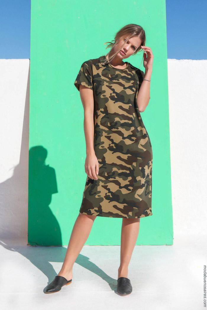 el camuflado esta de moda primavera verano 2020