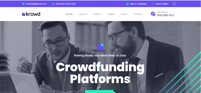 Nonprofit Fundraising & Charity WordPress Themes With Donation System   Krowd