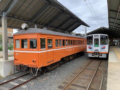 出雲大社前駅のホーム