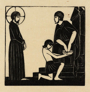 Eric Gill, Jesus is Condemned to Death, 1917, photo (c) Tate