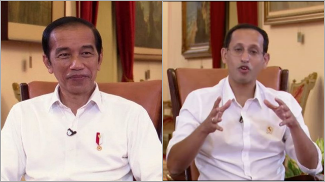 Jokowi Tanya Nadiem: Apa yang Sudah Dilakukan untuk SDM Unggul?