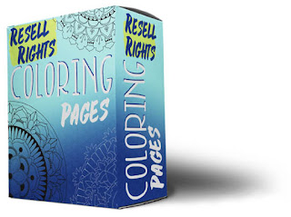 SHOP NOW Resell Rights Coloring Book Bundle