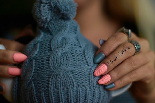 Autumn Nails - Sweterkowe Pazurki